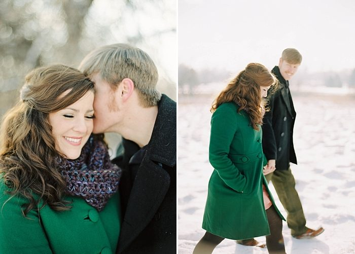 Lacy and Austin- Colorado Winter Engagement Photography