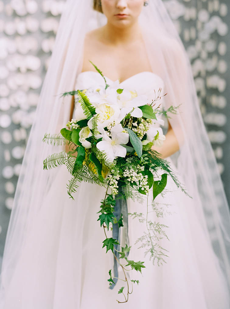 Bride Holding Bouquet, Colorado Weddings