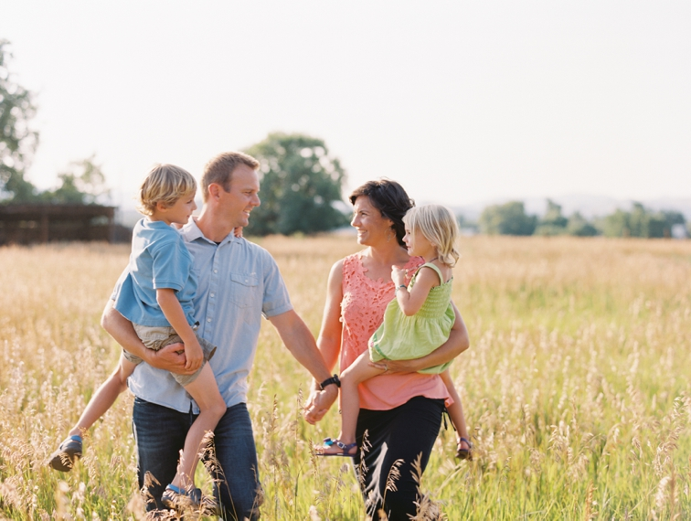 Afternoon Glow | Fort Collins Family Portrait Session