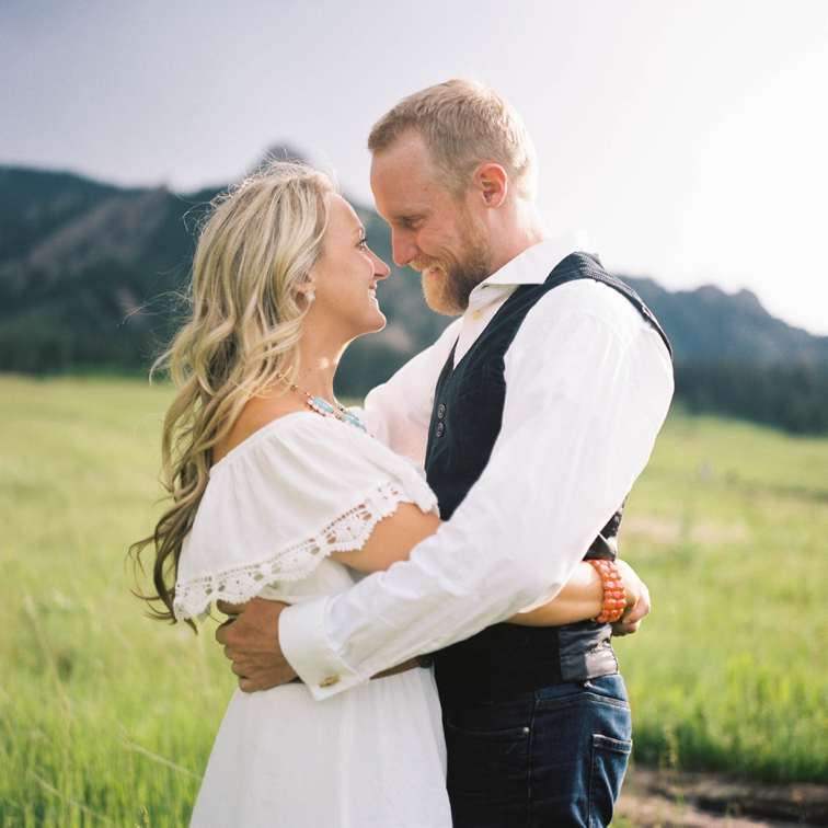 Boulder Colorado Engagement Session: Couple In Love
