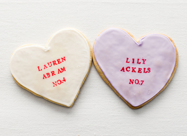 DIY Conversation Heart Cookies | Snippet and Ink Editorial