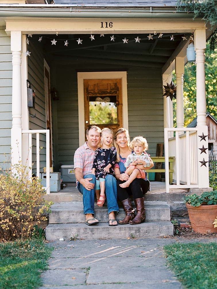 Fort Collins Portraits: Family On Porch