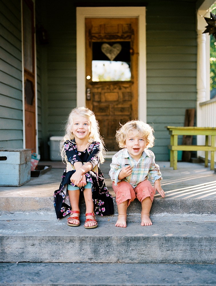 Fort Collins Family Portraits: Children Laughing