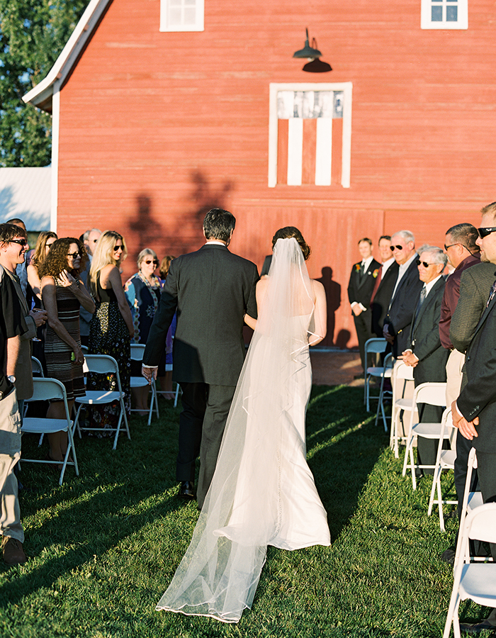 Colorado Farm Weddings: Barn Ceremonies