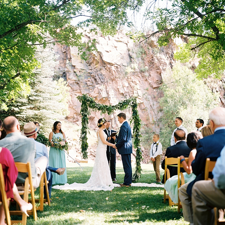 River Bend Wedding Ceremony