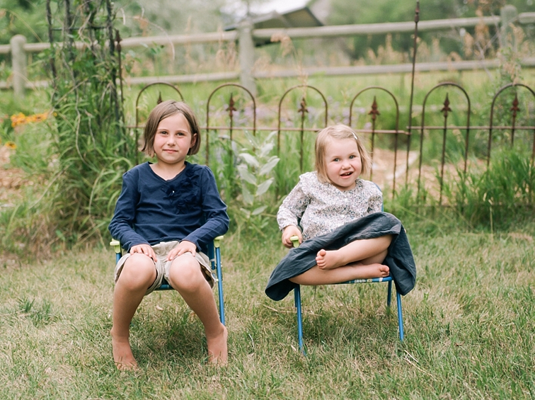 Summer Portraits With Siblings