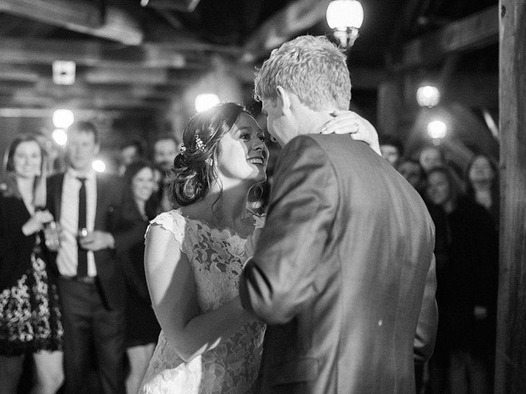 First Dance At Mountain Wedding, Colorado