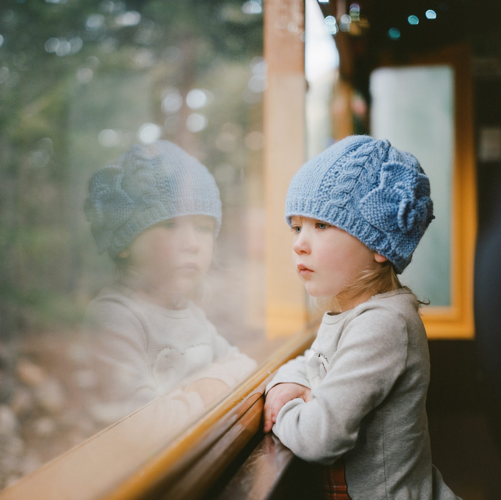 Colorado Portraits, Children by Window, Kids Photos