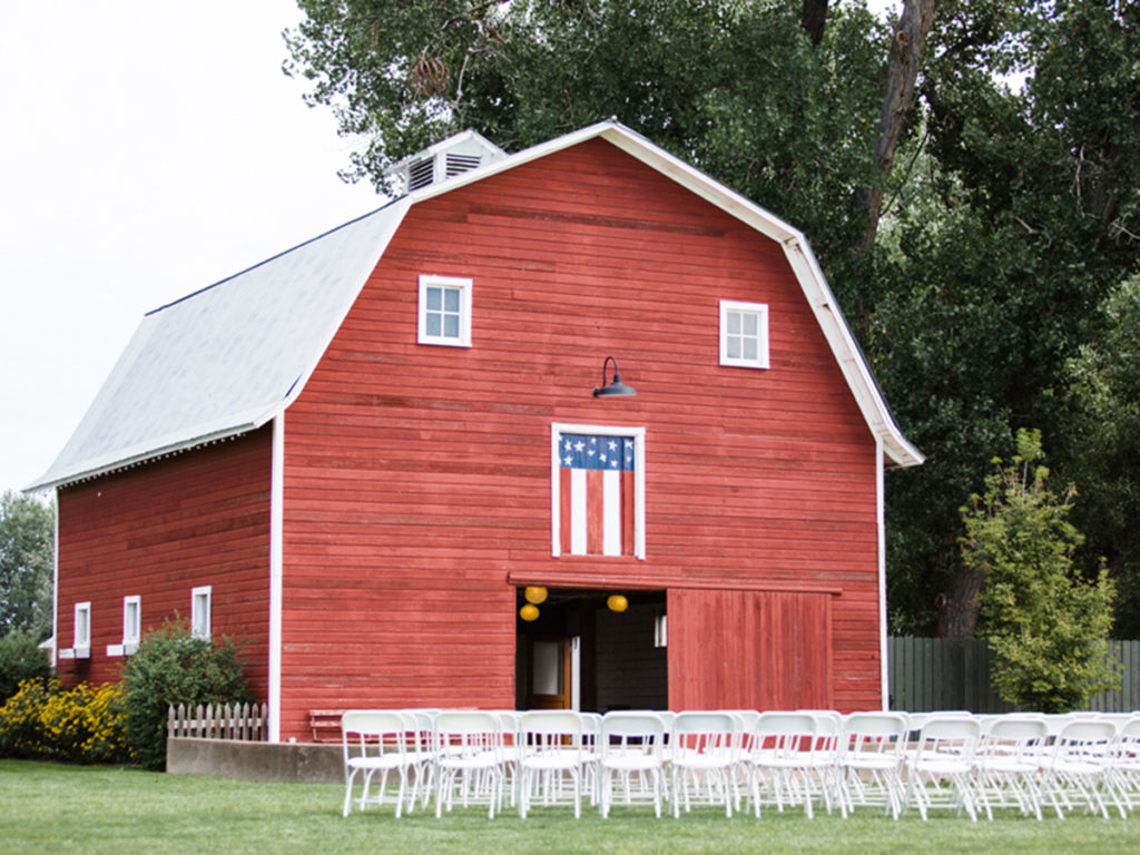 Ceremony Site, Colorado Weddings, Red Barn