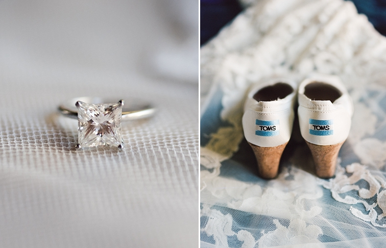 Engagement Ring & Wedding Shoes
