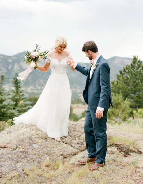 BHLD Bride, Colorado Weddings, Estes Park