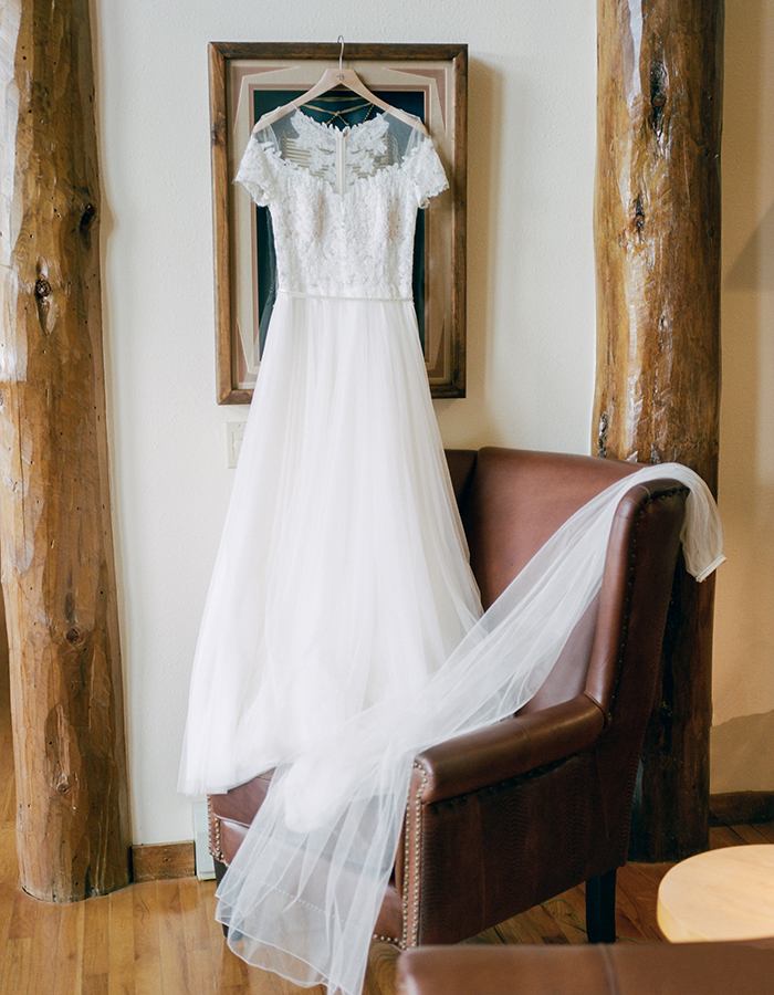 Bride Dress, BHLD Wedding, Estes Park