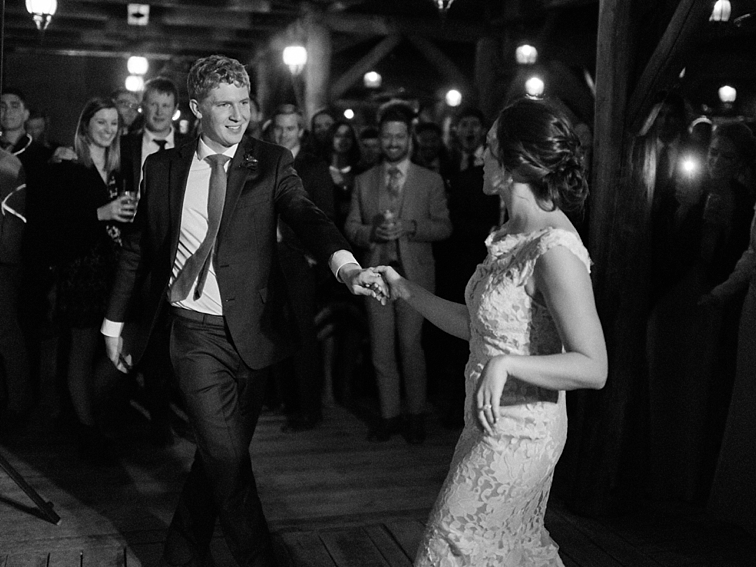 Bride & Groom Dancing, Piney River Ranch, Colorado