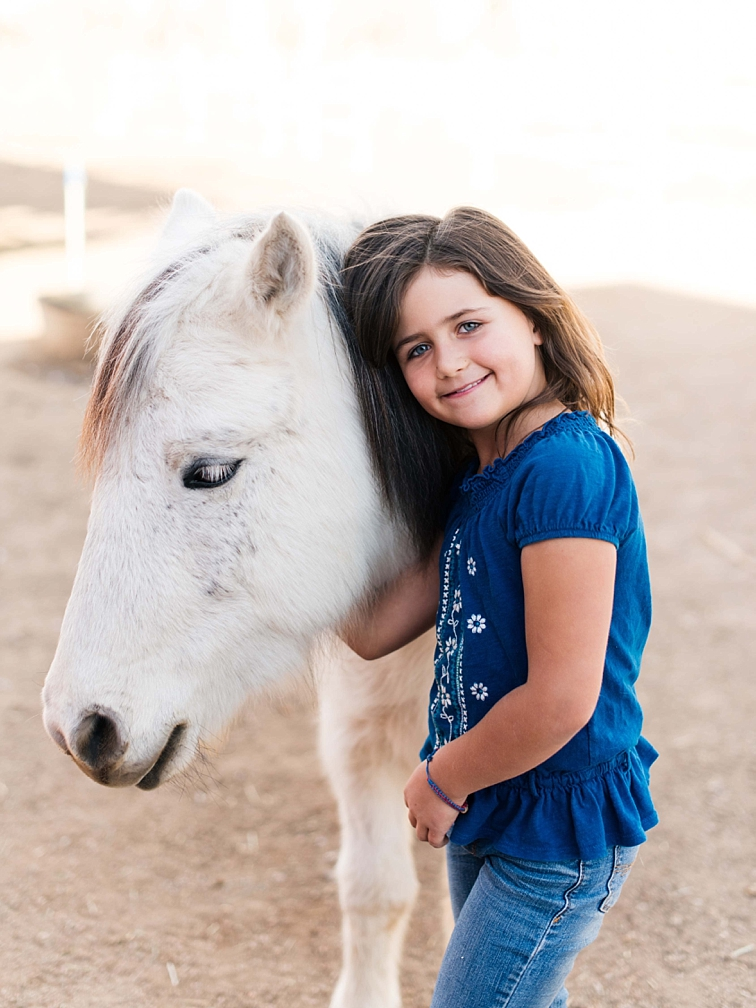 Girl With Pony, Family Photographer, Fort Collins