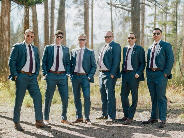 Groomsmen Photos, Piney River Ranch, Vail, Colorado