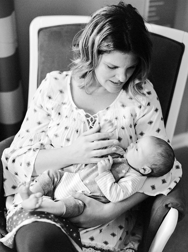 Mother Rocking Child, Fort Collins, Baby Newborn Photographers