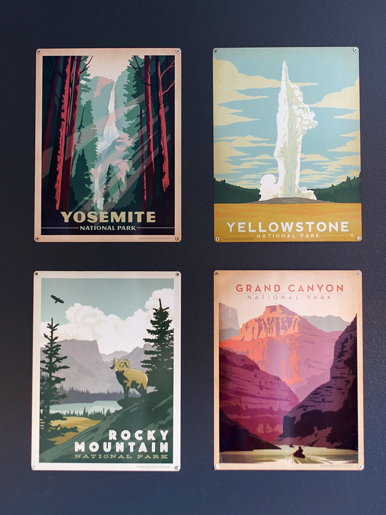 National Park Posters, Nursery Details, Fort Collins, Baby Newborn Photographers