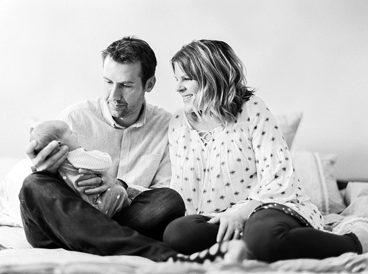 Parents Holding Baby, Fort Collins, Baby Newborn Photographers