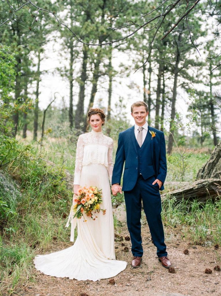 Bride with Groom, Mountain Wedding Venues, Colorado Wedding Photographers, Destination Wedding Photos