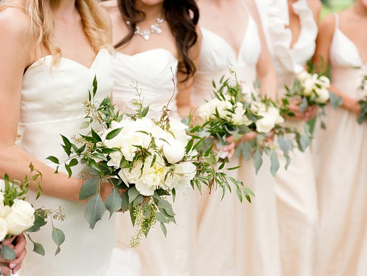 Bridesmaids' Bouquets - Denver Wedding Photos, Cherry Hills Country Club