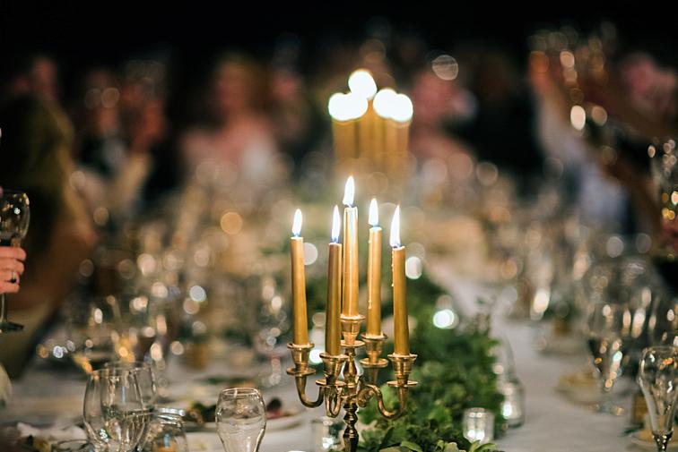 Candles - Denver Wedding Photos, Cherry Hills Country Club