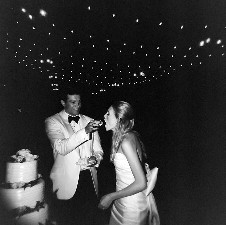 Bride Being Fed Cake - Denver Wedding Photos, Cherry Hills Country Club
