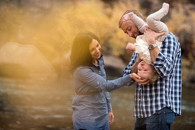 Family Playing, Fall Portraits, Fort Collins Photographers