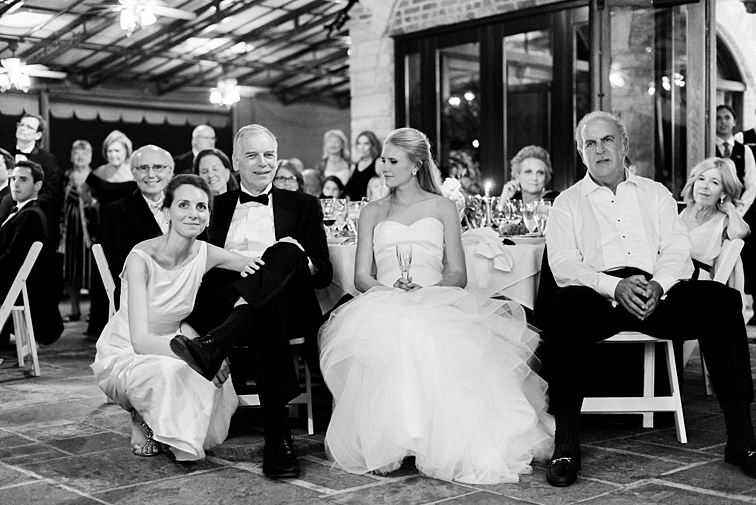 Bride & Family at Reception - Denver Wedding Photos, Cherry Hills Country Club