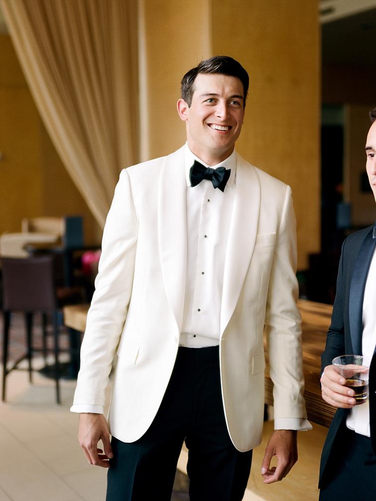 Groom Smiling - Denver Wedding Photos, Cherry Hills Country Club