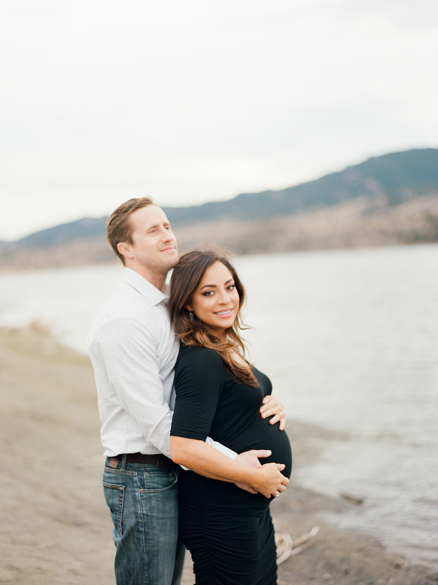 Maternity Photos Near Water, Fort Collins Maternity Photographer