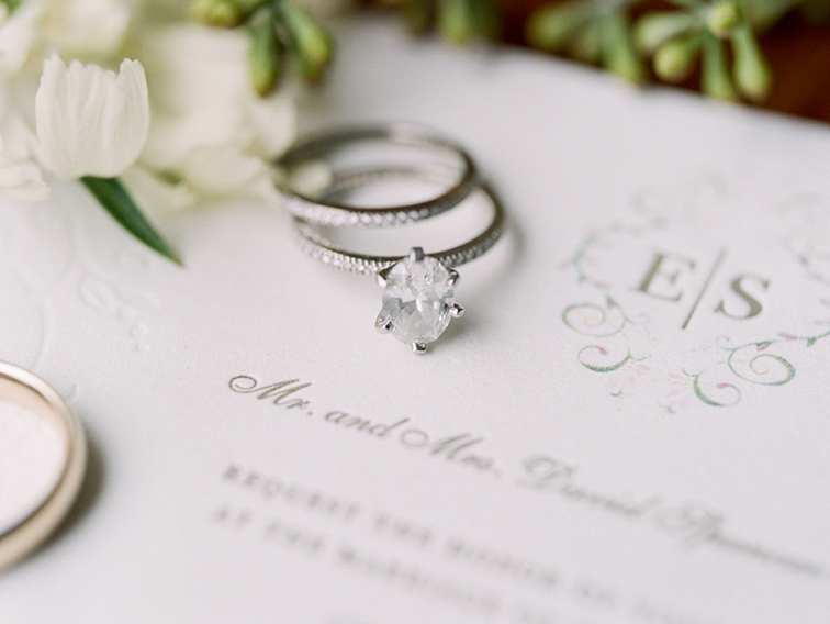 Bride's Wedding Rings - Denver Wedding Photos, Cherry Hills Country Club