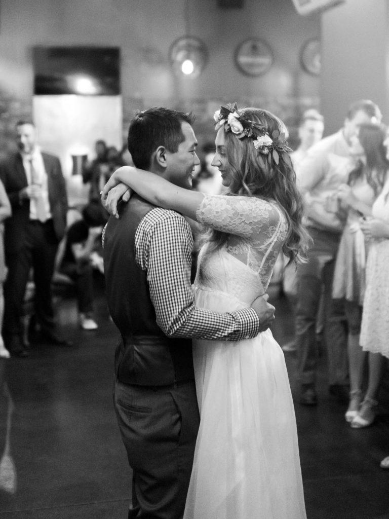 Bride Groom Dancing, Colorado Destination Weddings