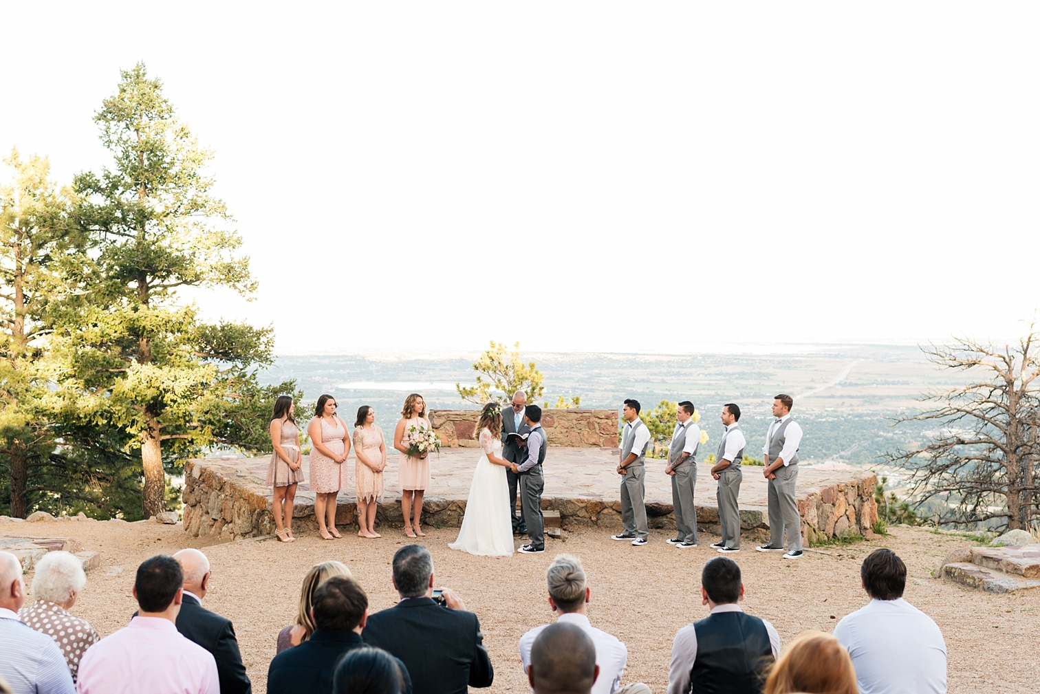 Flagstaff Mountain Wedding, Sunrise Amphitheater, Colorado Photographers, Best Destination Weddings, Danielle DeFiore Photography