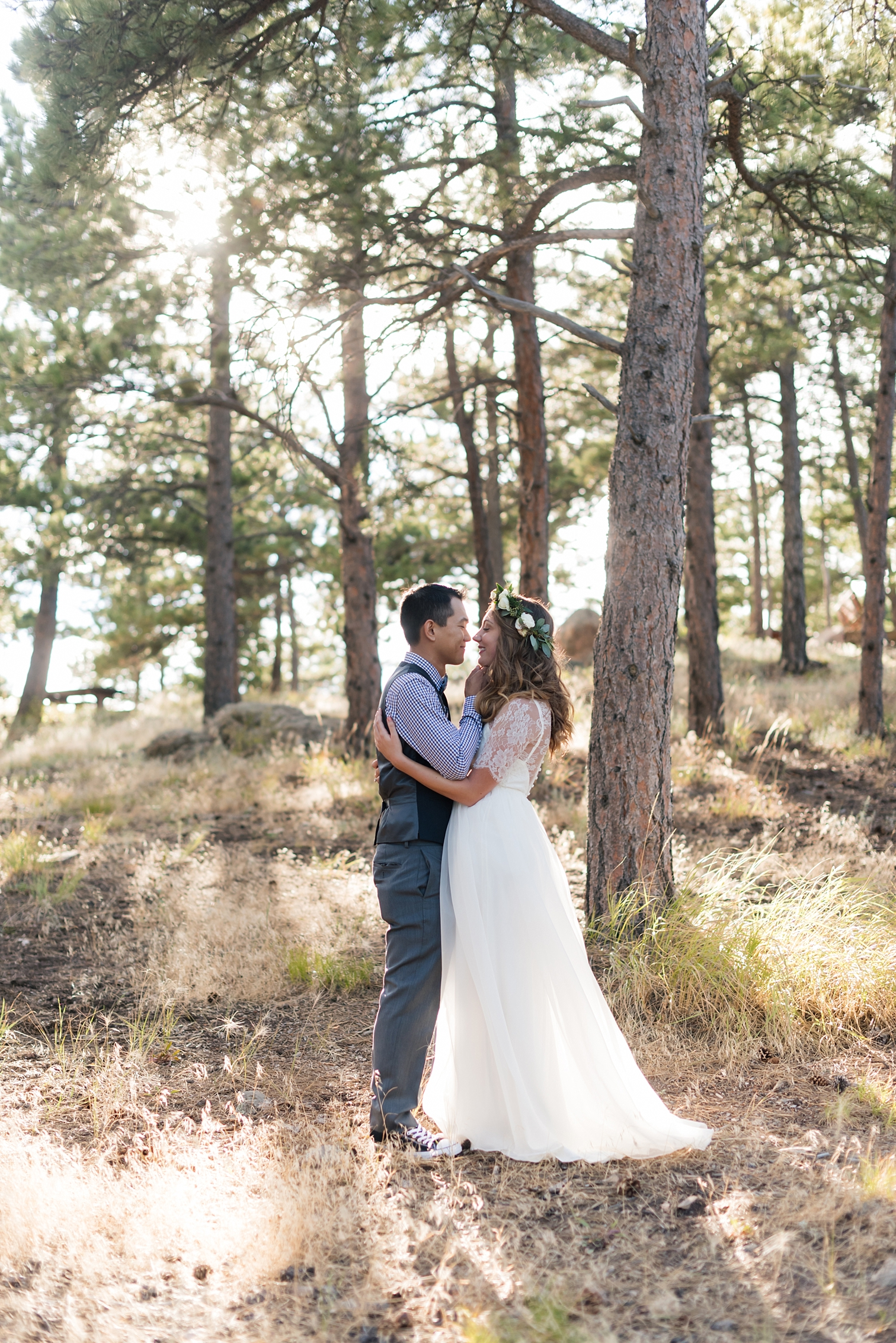 First Look, Mountain Weddings, Film Photographers, Colorado Weddings, Best Destination Weddings