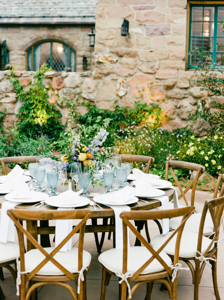 Denver Colorado, Mountain Weddings, Cherokee Castle, Alfresco Reception