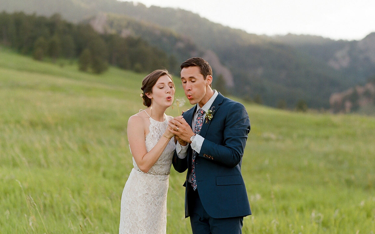 Chautauqua Park Destination Wedding | Boulder Colorado Photographer