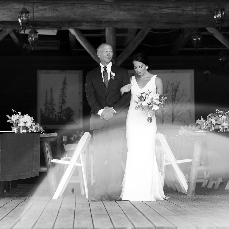 Father Walking Daughter Down The Isle. Vail Colorado Wedding, Colorado Wedding Photographer, Film Photographer, Mountain Wedding, Colorado Destination Wedding Photographers, Best Photographers In Colorado, Film Photography, Denver Wedding Photographers