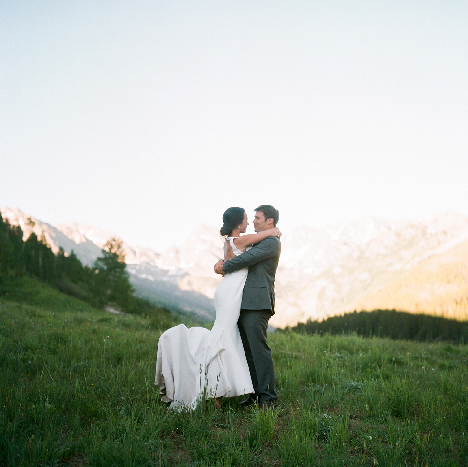 Piney River Ranch Wedding, Bride and Groom