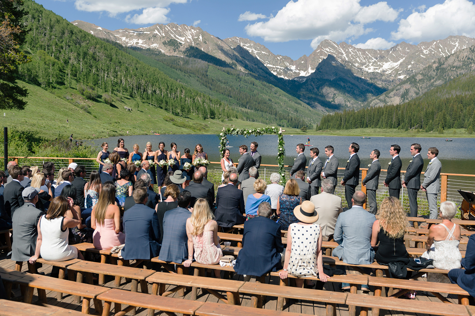 Piney River Ranch Wedding, Ceremony Views