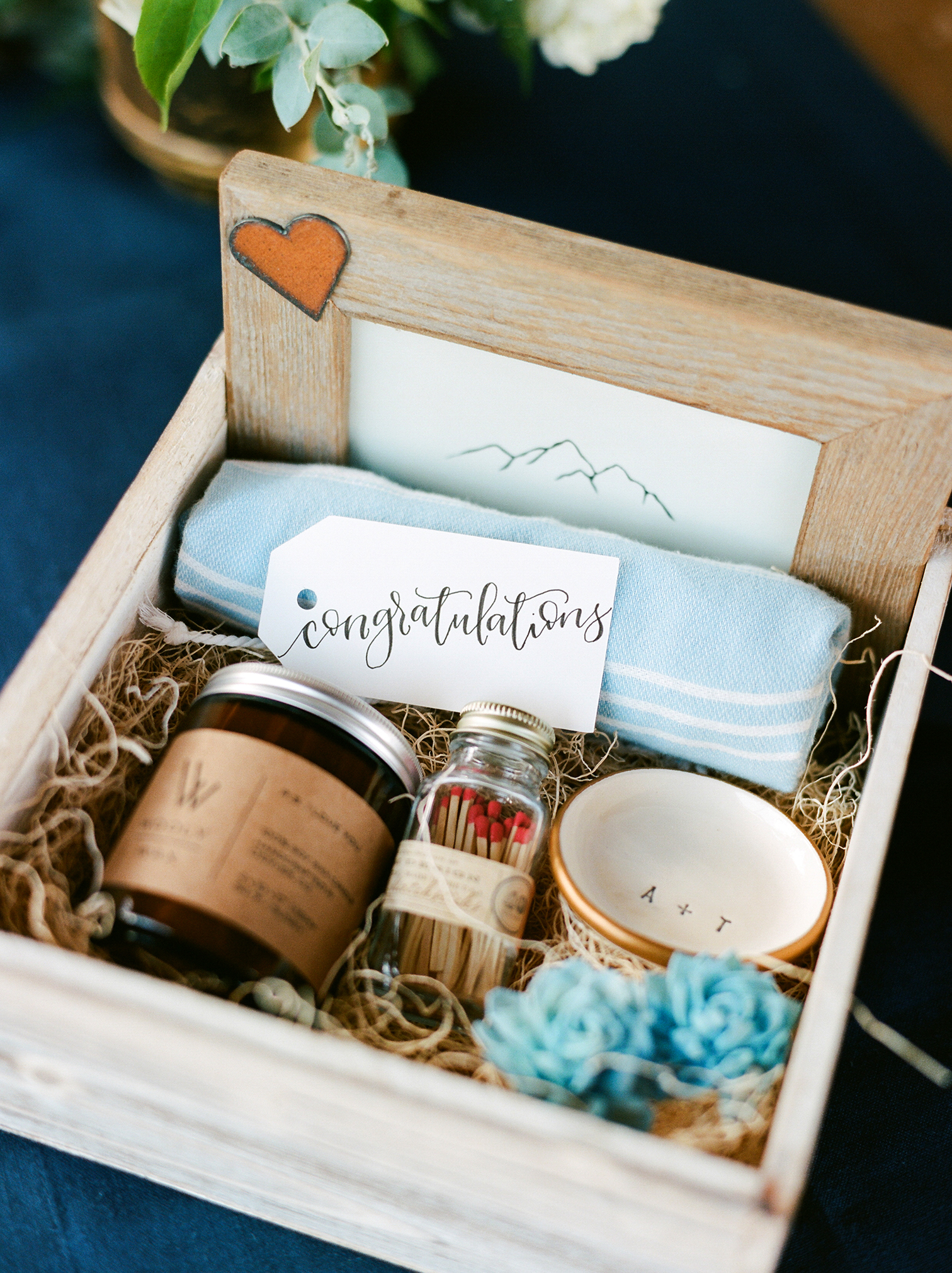Piney River Ranch Wedding, Guest Welcome Bags