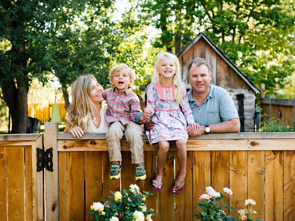 Family Portraits On Fence, Fort Collins Photographers, Family Portraits in Fort Collins, Danielle DeFiore Colorado Portrait Photographers, Colorado's Best Photographers, Northern Colorado Family Photos, Colorado Newborn Photos, Fort Collins Newborn Photographers, Fort Collins Portraits