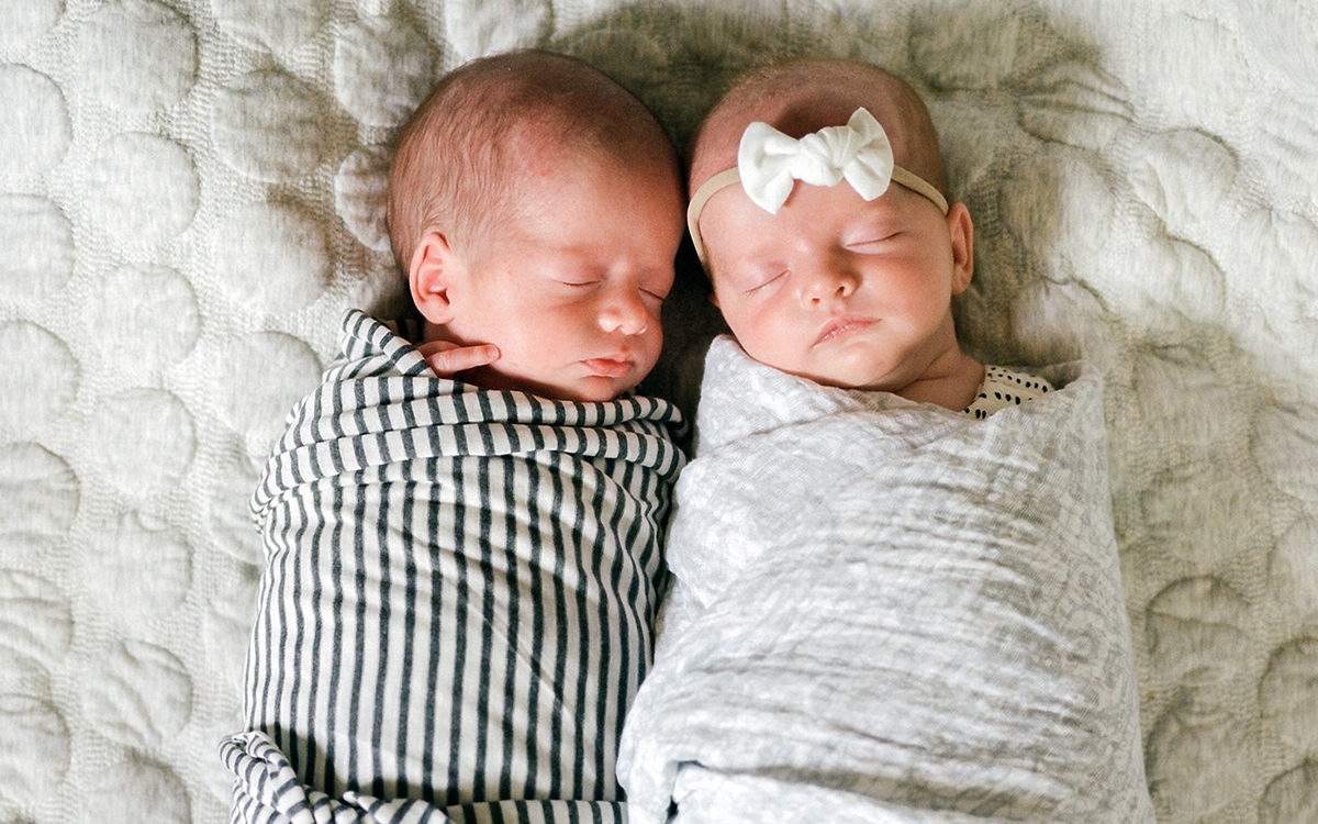 Newborn Twin Session | Fort Collins Photographer