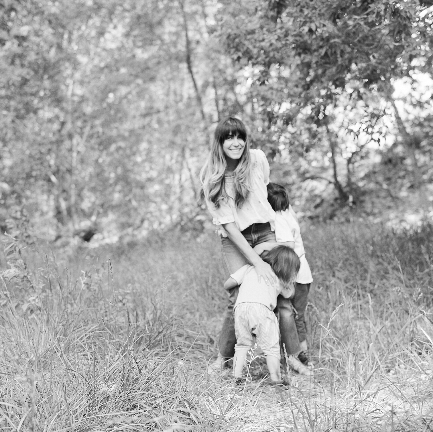 Film Photographers, Colorado Family Portraits, Fort Collins Portrait Photographer, Summer Family Portraits, Mother With Children, Rolleflex Camera, Danielle DeFiore Photography