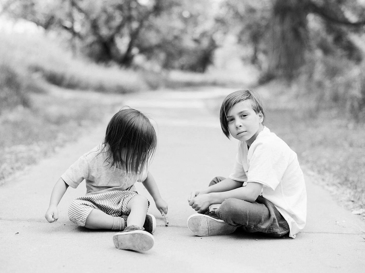 Film Photographers, Colorado Family Portraits, Fort Collins Portrait Photographer, Summer Family Portraits, Black and White Children's Portraits, Danielle DeFiore Photography