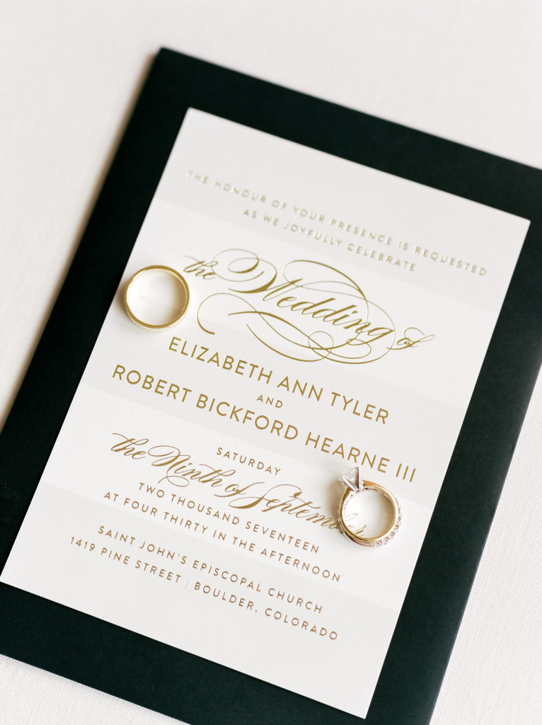 Boulder Weddings, St. Julian Wedding Invitation