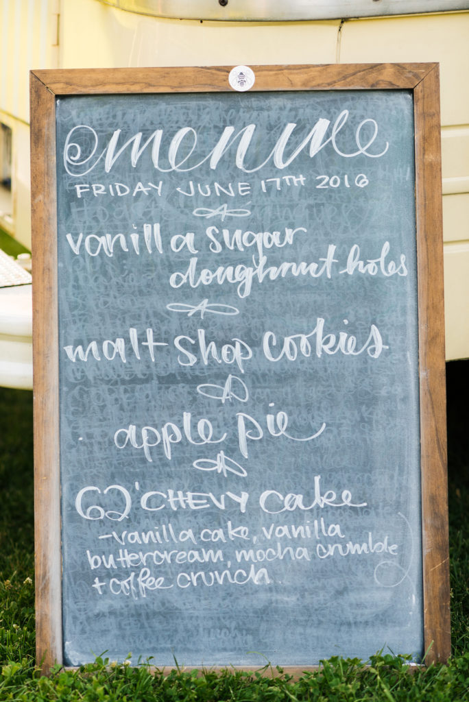 Lyons Colorado, Farmette Wedding, Chalk Board Sign