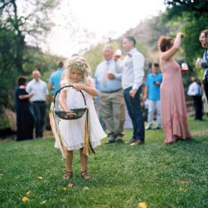 Lyons Colorado, Farmette Wedding, Flower Girl