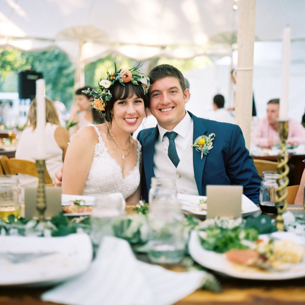 Lyons Colorado, Farmette Wedding, Couple Smiling