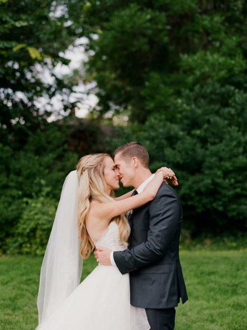 Wedding Couple Hugging, Denver Wedding Photos