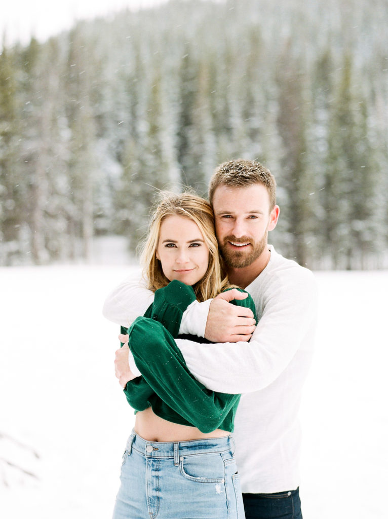 Colorado Destination Wedding, Mountain Engagement Session